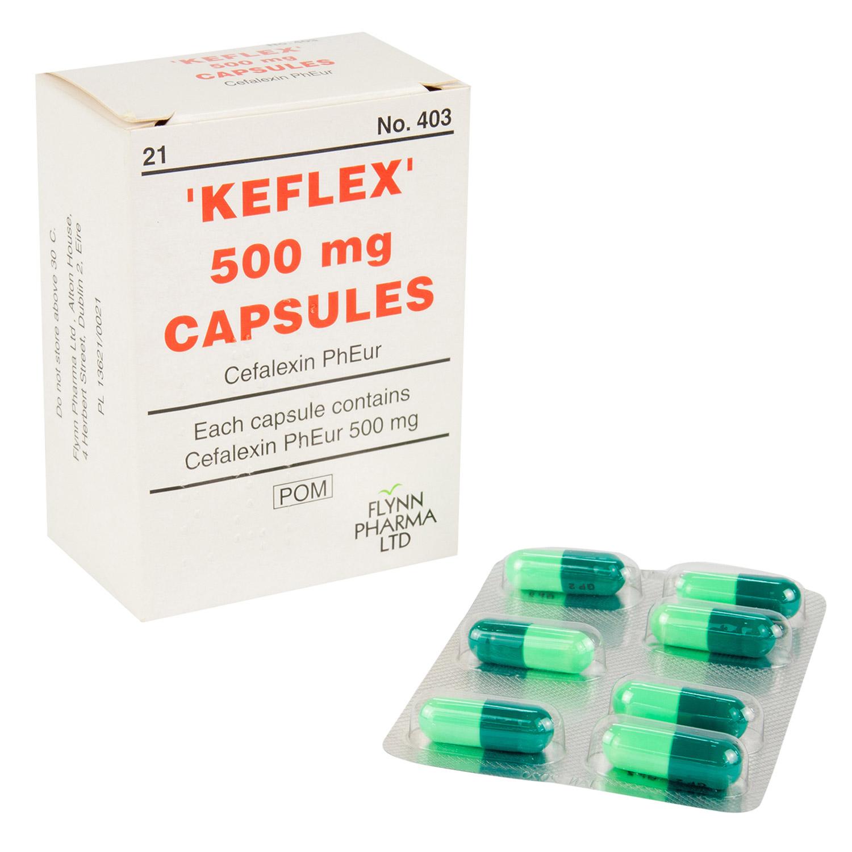 ケフレックス(セファレキシン)500mg