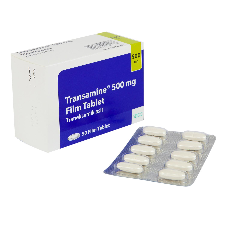 トラネキサム酸錠500mg(トランシーノ)50錠
