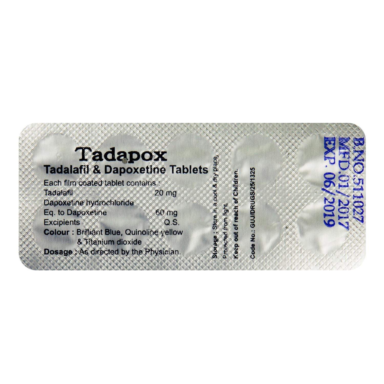タダポックス通販 タダポックス通販/10錠2,240円/ED&早漏治療/ネットのくすり屋さん