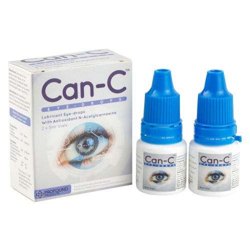 キャンC(白内障治療点眼薬)