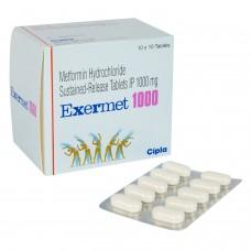 エクサメット(塩酸メトホルミンXR)1000mg