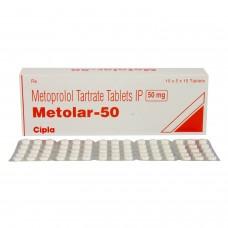 メトラール(酒石酸メトプロロール)50mg