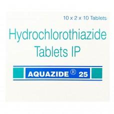 アクアザイド25mg(ヒドロクロロチアジド)100錠