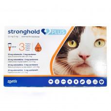 ストロングホールドプラス猫用(2.5?5kg未満)3本