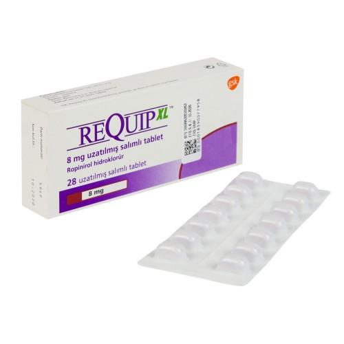 レキップ(塩酸ロピニロール)8mg