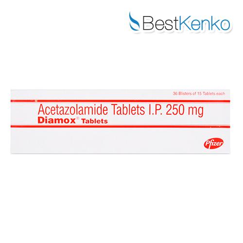 ダイアモックス(アセタゾラミド)250mg