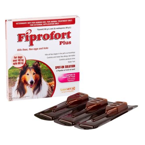 【おまけ】フィプロフォートプラス超大型犬用3本