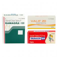 1番人気ED治療薬ジェネリック3種セット(カマグラ・タダシップ・バリフ)