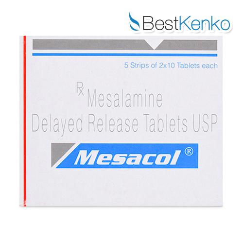 メサコール(メサラミン)400mg