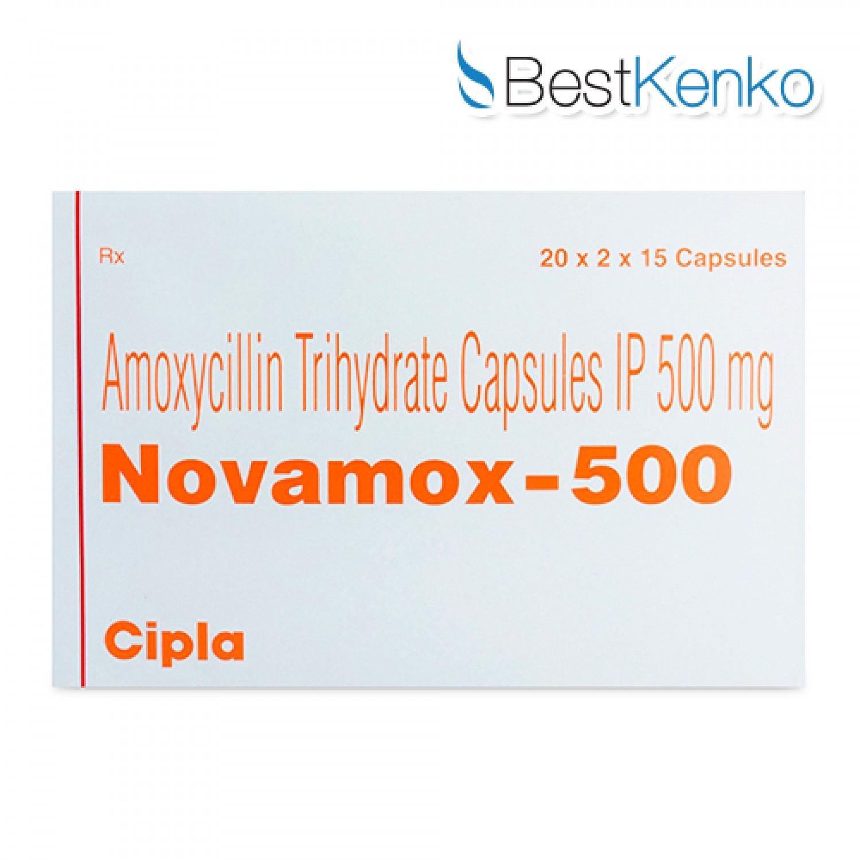 ノバモックス(アモキシシリン)500mg