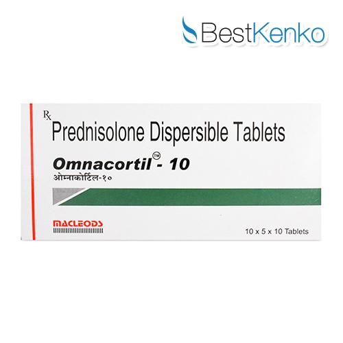 オムナコルチール(プレドニゾロン)10mg