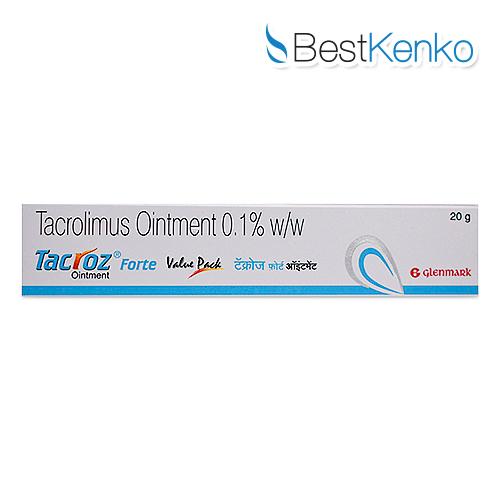 タコロスフォルテ軟膏(タクロリムス)0.1%
