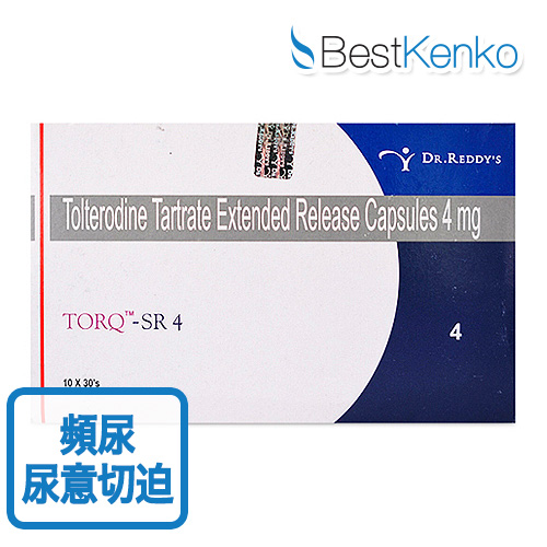 トルクSR(酒石酸トルテロジン)4mg