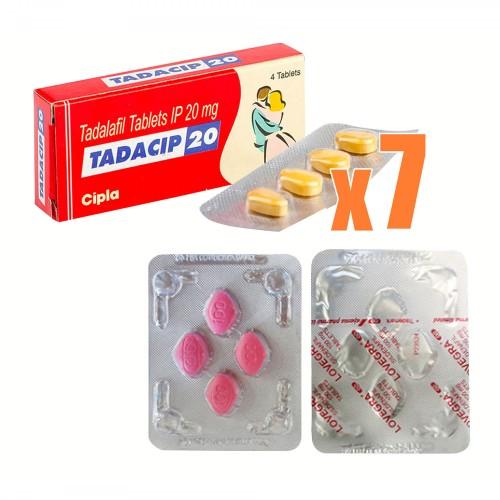 【恋人セット】 タダシップ7箱+ラブグラ1箱セット