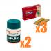 【ED+肝機能ケア】タダシップ20mg3箱+ヒマラヤLIV52(肝臓ケア)2箱パック