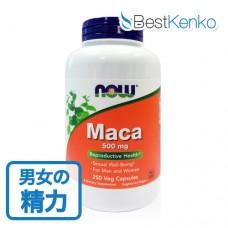 マカ500mg大容量3~8ヶ月分(250粒)