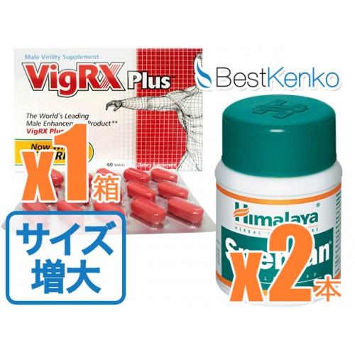 サイズアップパック(VigRXプラス1箱スぺマン2箱)
