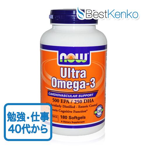ウルトラ・オメガ3フィッシュオイル(お得な180粒)