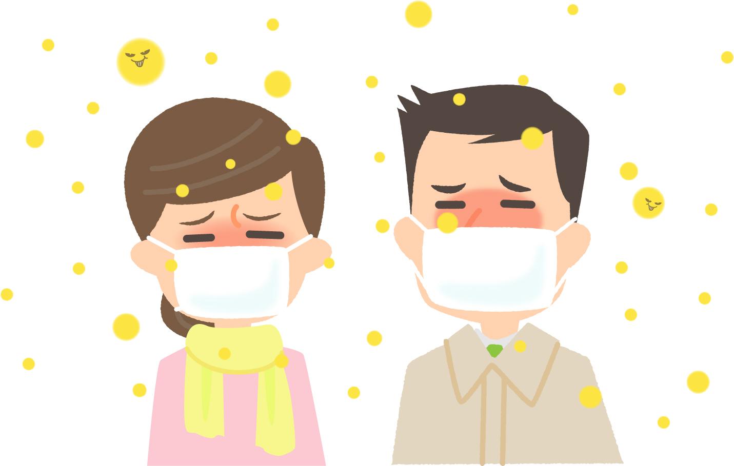 花粉症にも季節があるって本当!?季節ごとの花粉症